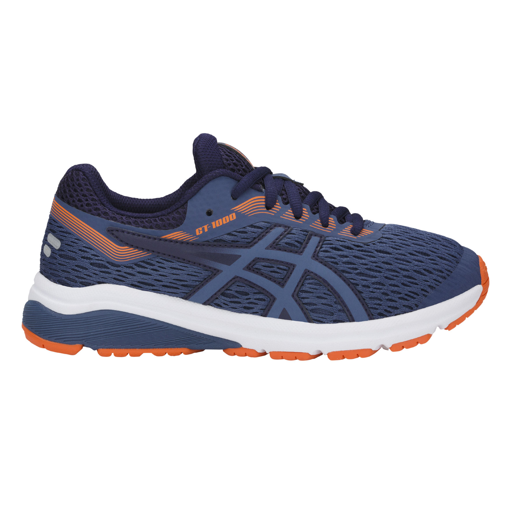 Asics GT-1000 7 GS in Blau Orange