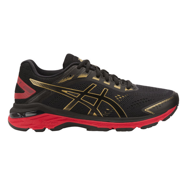 Asics Lady GT 2000 7 in Schwarz Rot Gold