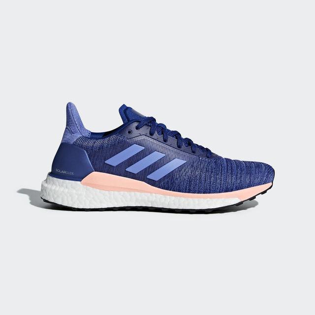 adidas Solar Glide w in Blau Rosa