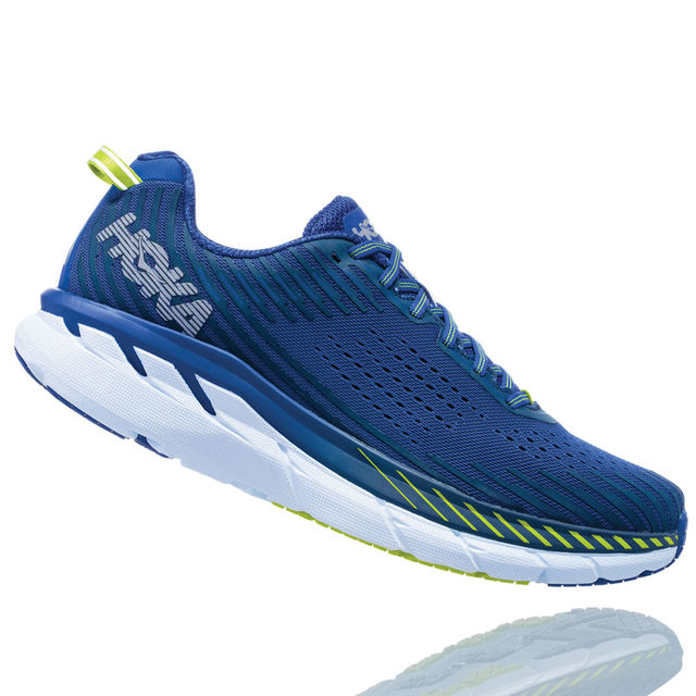 Hoka One One Clifton 5 in Blau