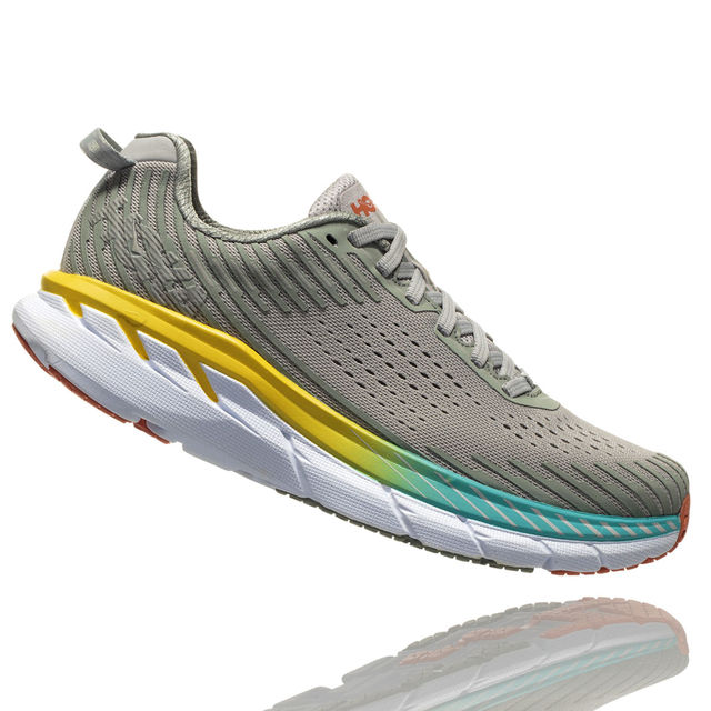 Hoka One One Lady Clifton 5 in Grau