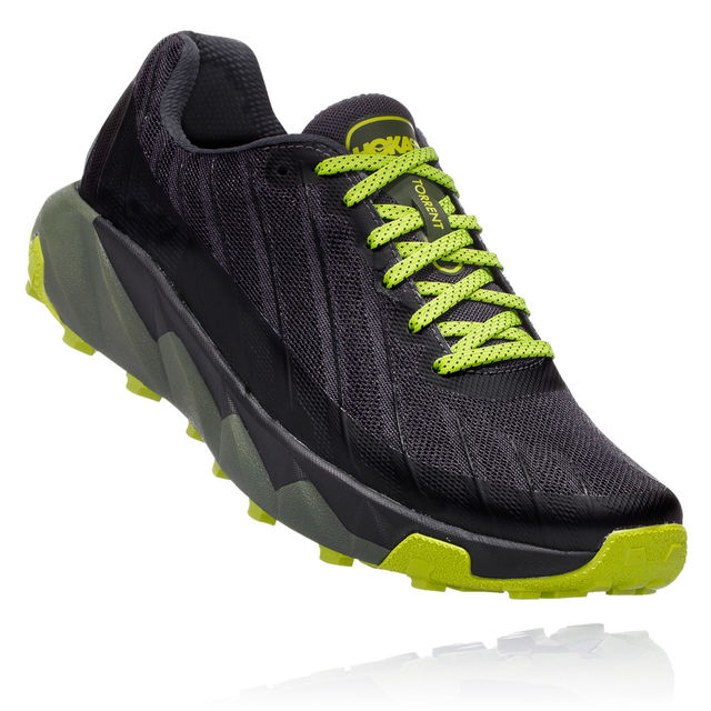 Hoka One One Torrent in Schwarz Grün