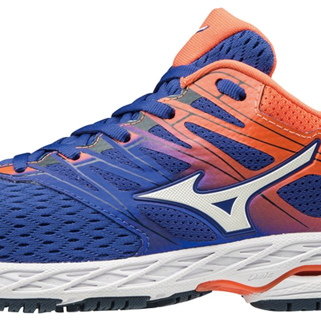 Mizuno Wave Shadow 2 in Blau Orange