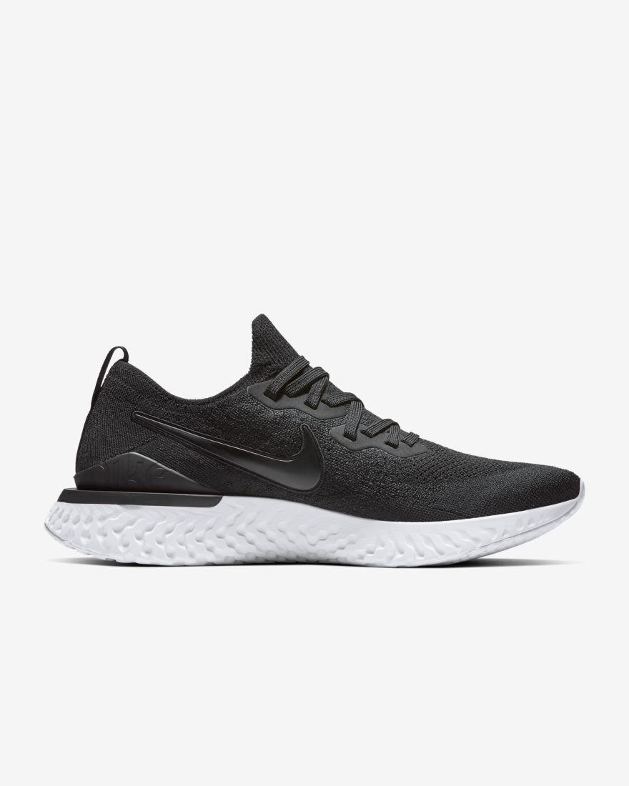 Nike Epic React Flyknit 2 in Schwarz