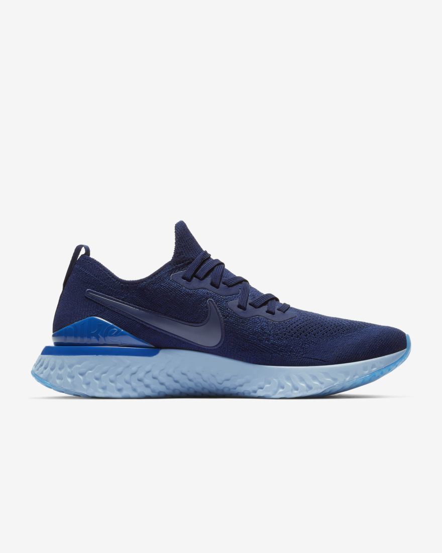 Nike Epic React Flyknit 2 in Blau