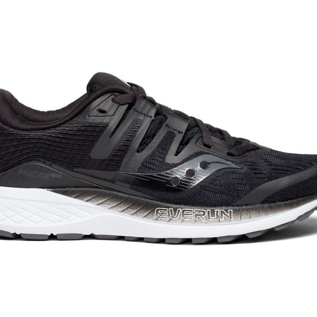 Saucony Lady Ride ISO in Schwarz
