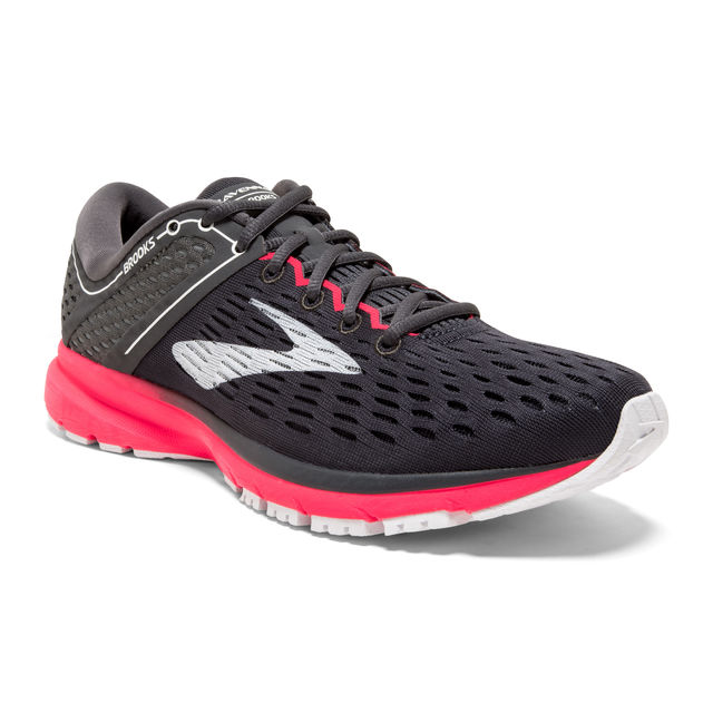 Brooks Lady Ravenna 9 in Schwarz Pink