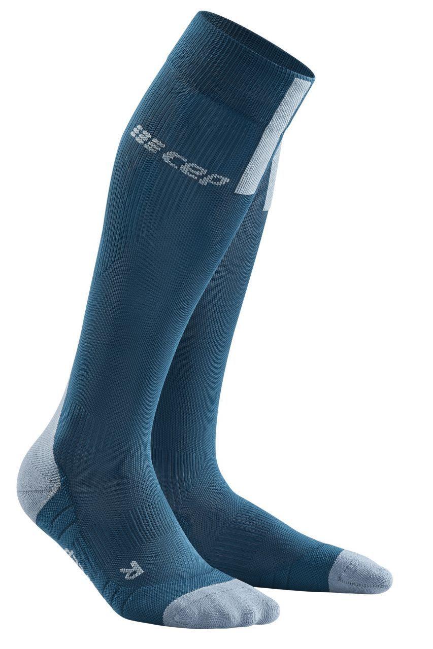 cep Run Compression Socks 3.0 in Blau Grau