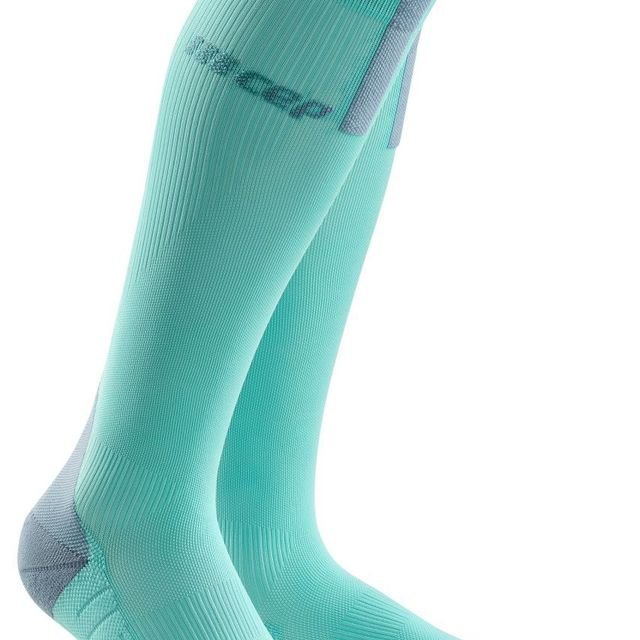cep Women Run Compression Socks 3.0 in Eis Grau