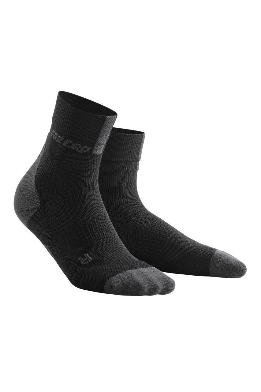 cep Women Compression Short Socks 3.0 in Schwarz