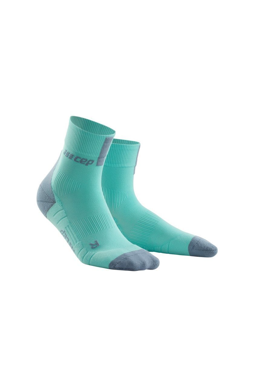cep Women Compression Short Socks 3.0 in Eis Grau