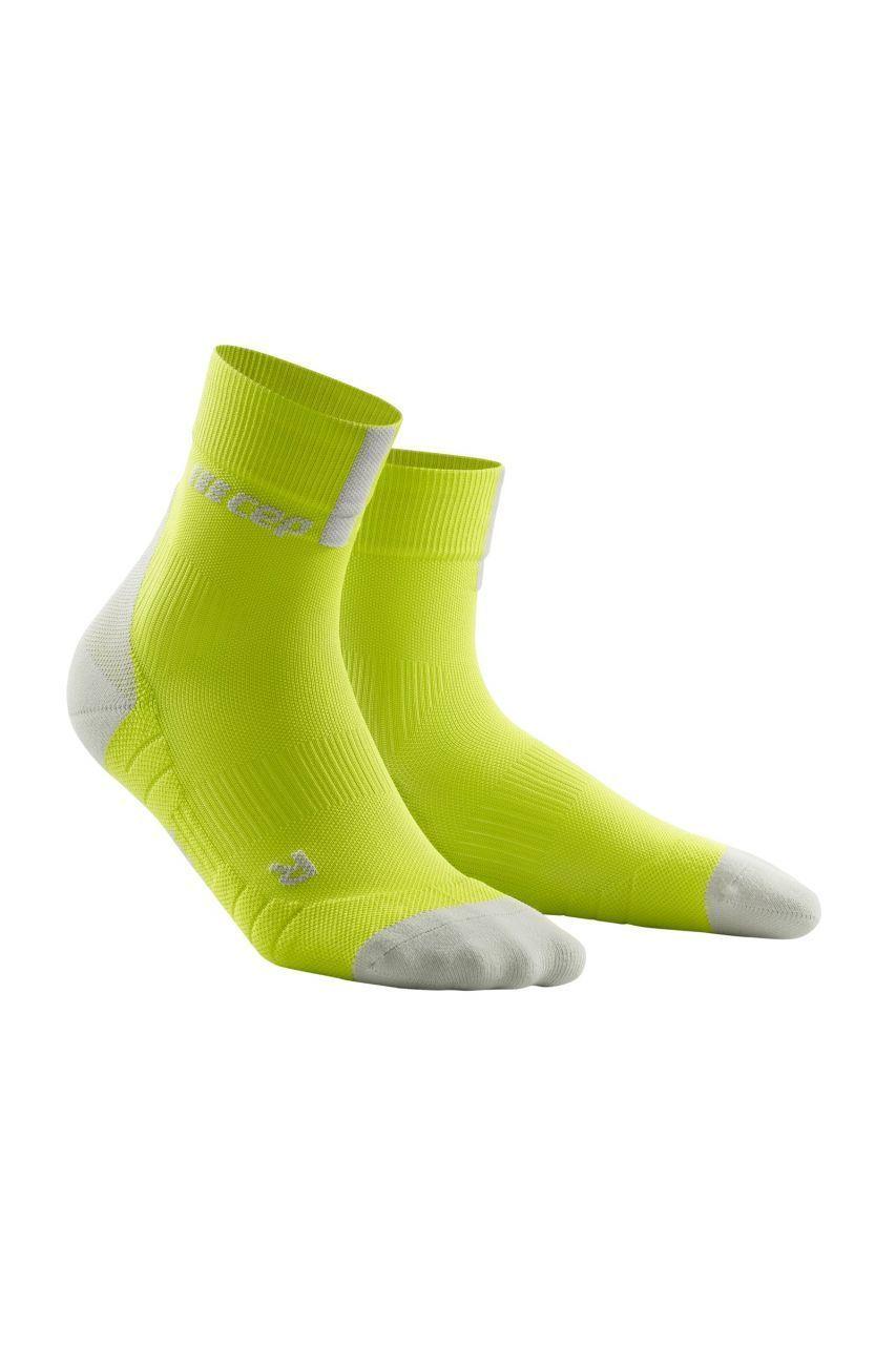 cep Short Socks 3.0 in Gelb Grün