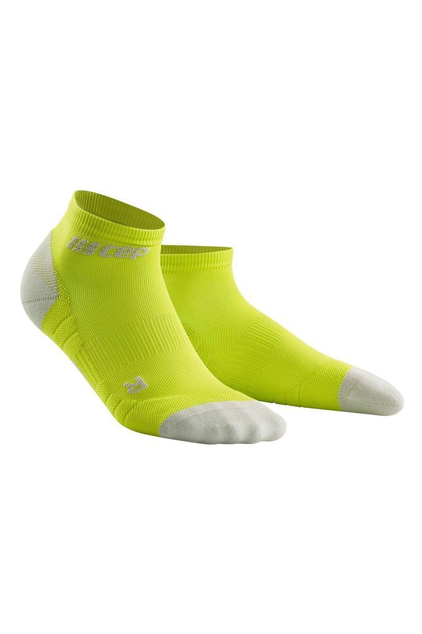 cep Compression Low Cut Socks 3.0 in Gelb Grün