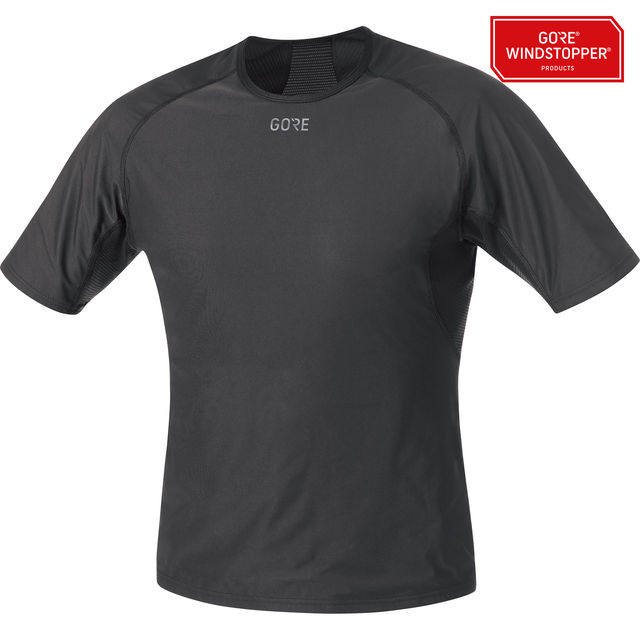 Gore GWS Base Layer Shirt in Schwarz