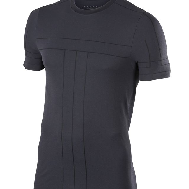 Falke Basic T-Shirt in Schwarz