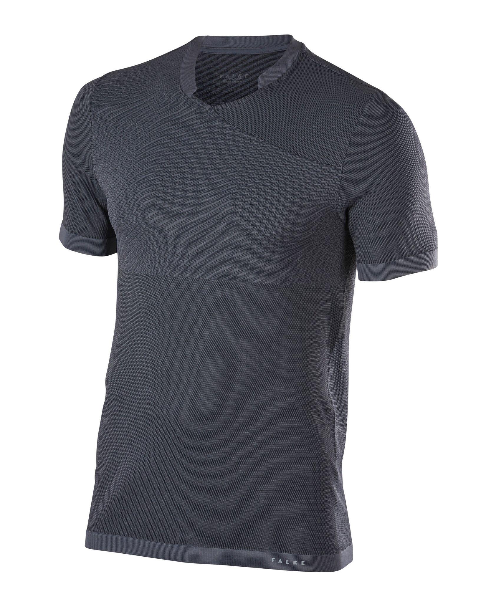 Falke Fitness T-Shirt in Dunkelgrau
