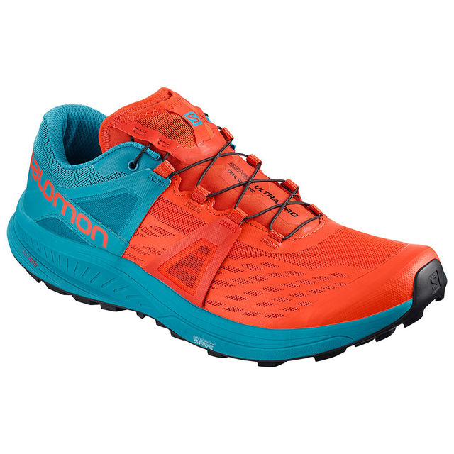 Salomon Ultra Pro in Orange Blau