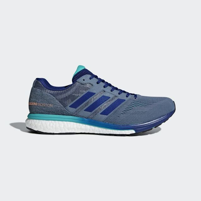 adidas Adizero Boston 7 in Grau Blau