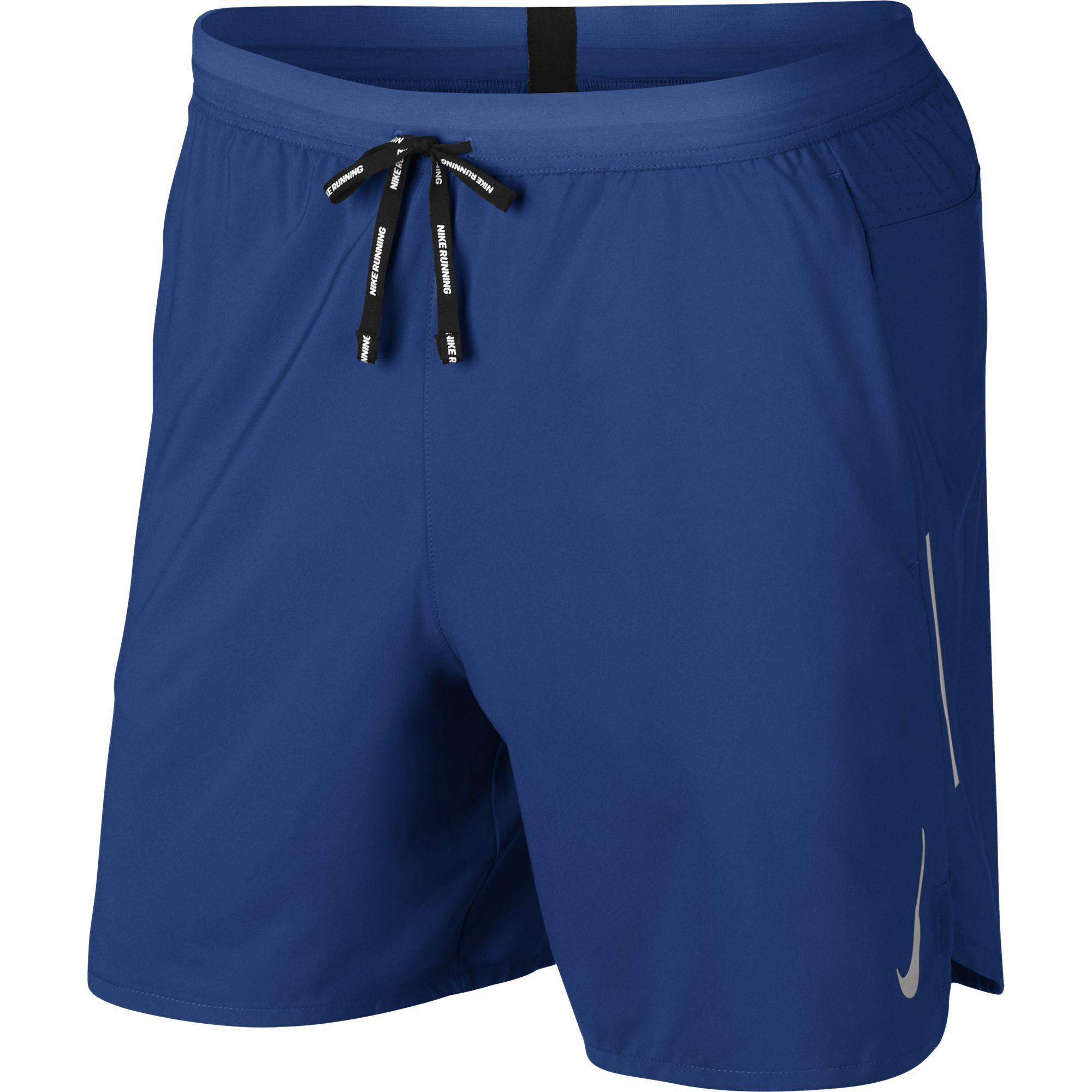 "Nike Flex Stride 2in1 Shorts 7"" in Blau"