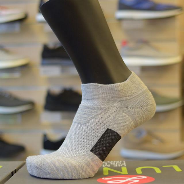 Lunge Socke Lowcut Asphaltgrey