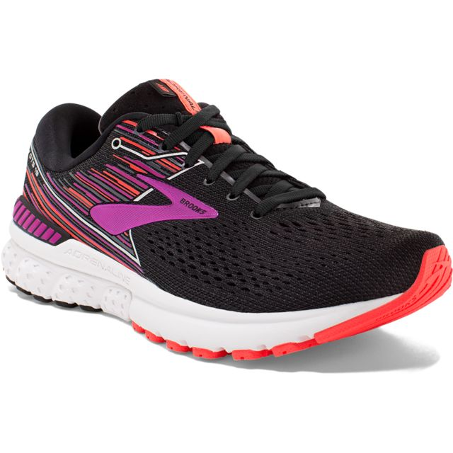 Brooks Lady Adrenaline 19 B in Schwarz Lila