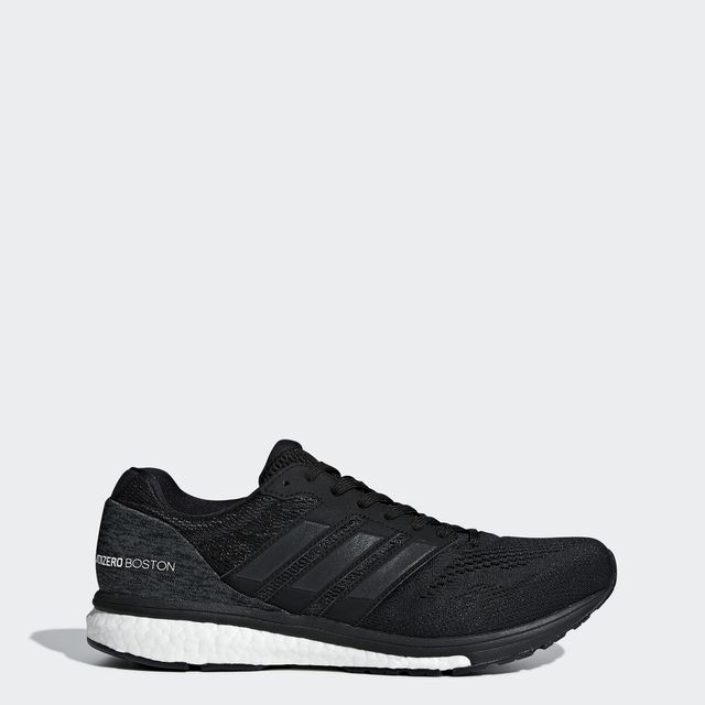 adidas adizero Boston 7 in Schwarz