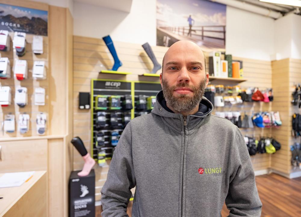 """LUNGE Blogserie: """"Mein Lieblings-Produkt"""" Markus Laufzubehör für den Winter"""
