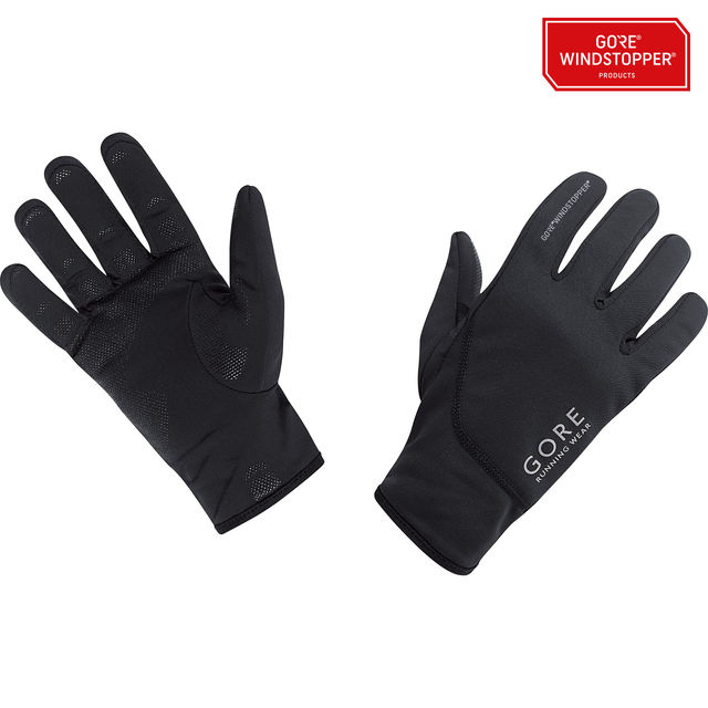 Gore Essential WS Gloves in Schwarz