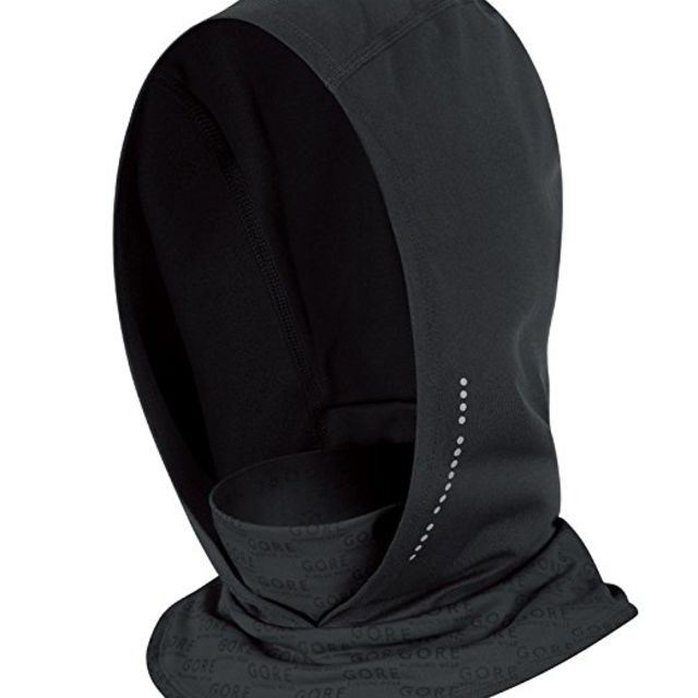 Gore Air Lady Neck Warmer in Schwarz