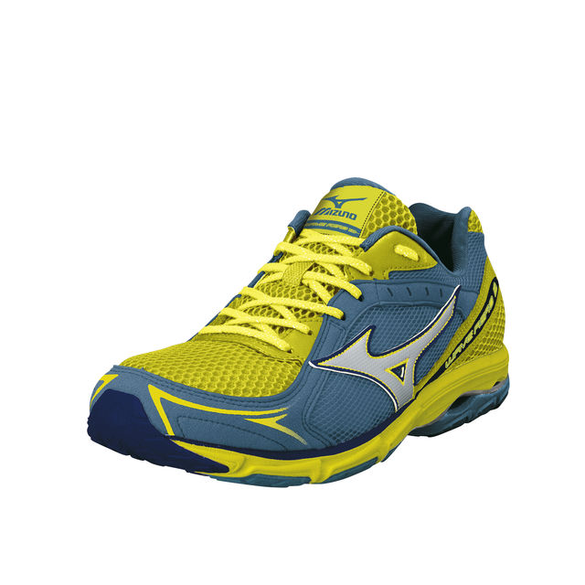 Mizuno Lady Wave Aero 13 in Grün , Gelb