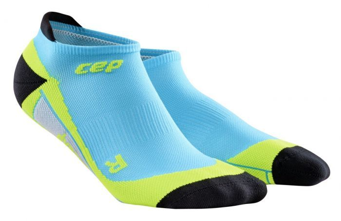 cep No Show Socks Men in Blau Grün