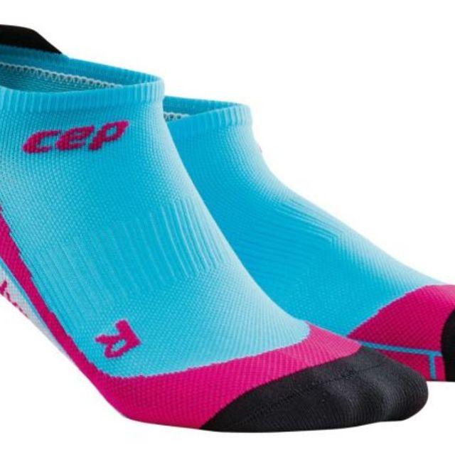 cep No Show Socks Women in Blau Pink