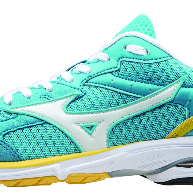 Mizuno Lady Wave Aero 14 in Hellblau Gelb