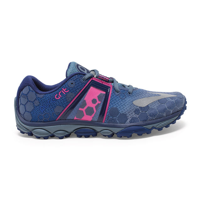 Brooks Lady PureGrit 4 in Blau