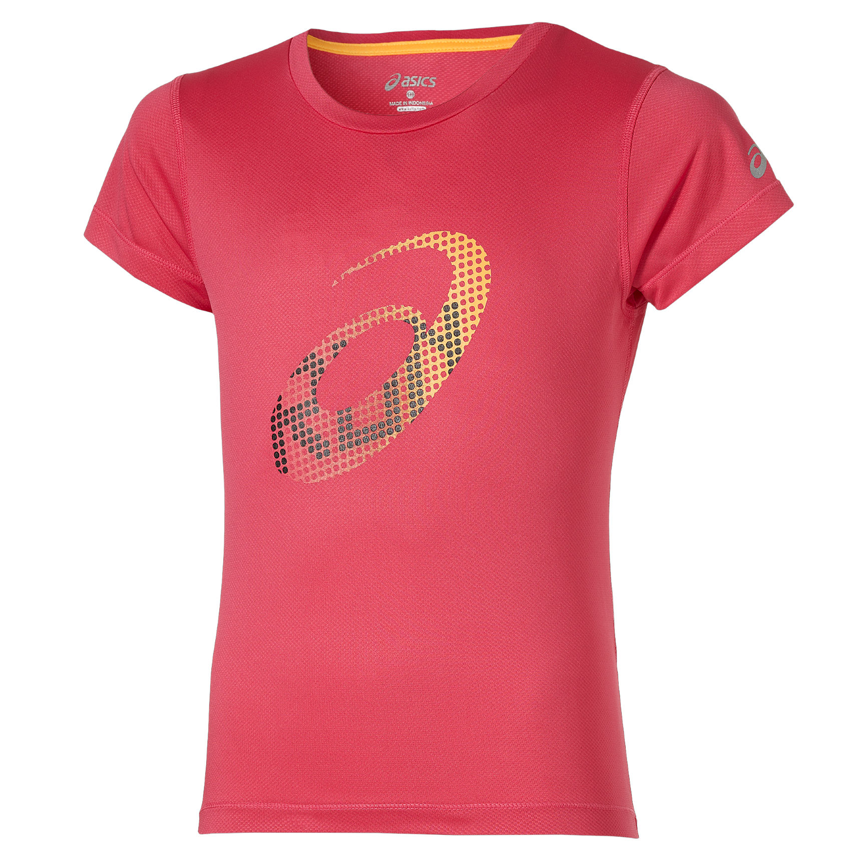 Asics Girls SS Top in Pink