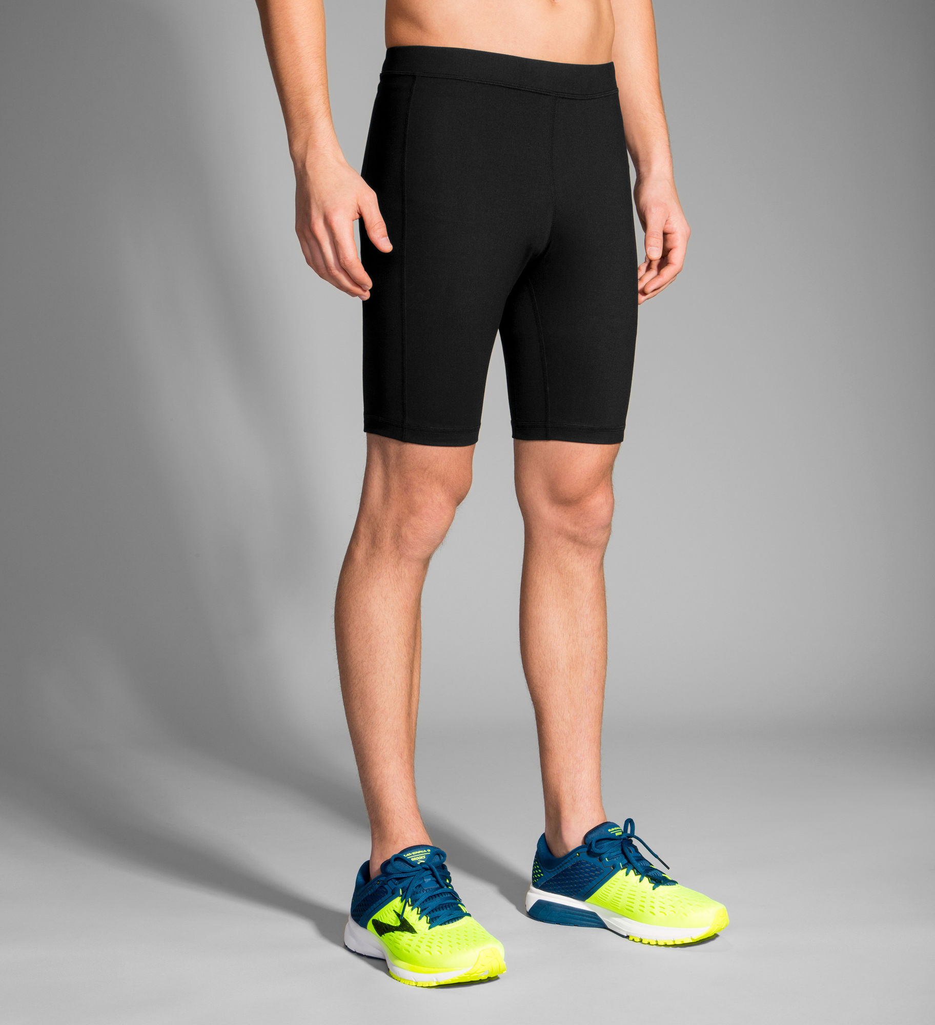 "Brooks Greenlight 9"" Short Tight (Schwarz)"