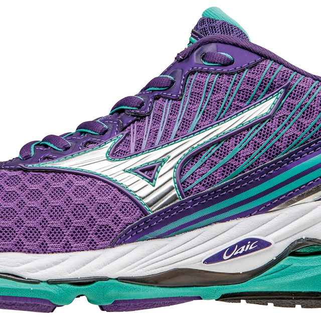Mizuno Lady Wave Paradox 2 in Lila Grün