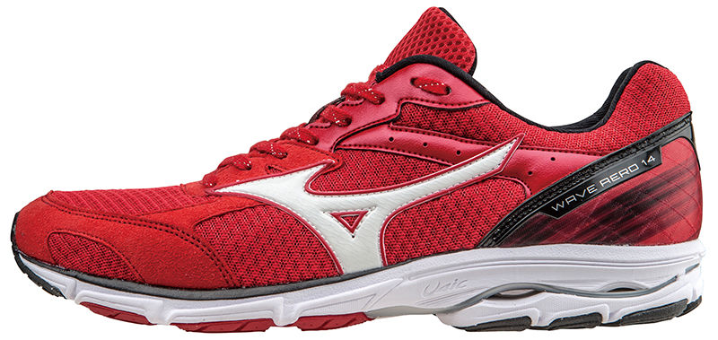 Mizuno Wave Aero 14 in Rot