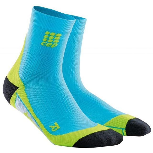 cep Short Socks Men in Blau Grün
