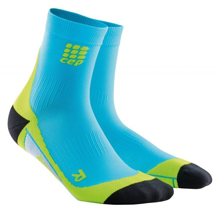 cep Short Socks Men in Blau Grün