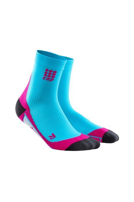cep Short Socks Women in Blau Pink
