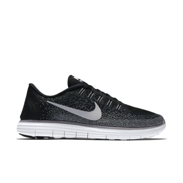 Nike Free RN Distance in Schwarz