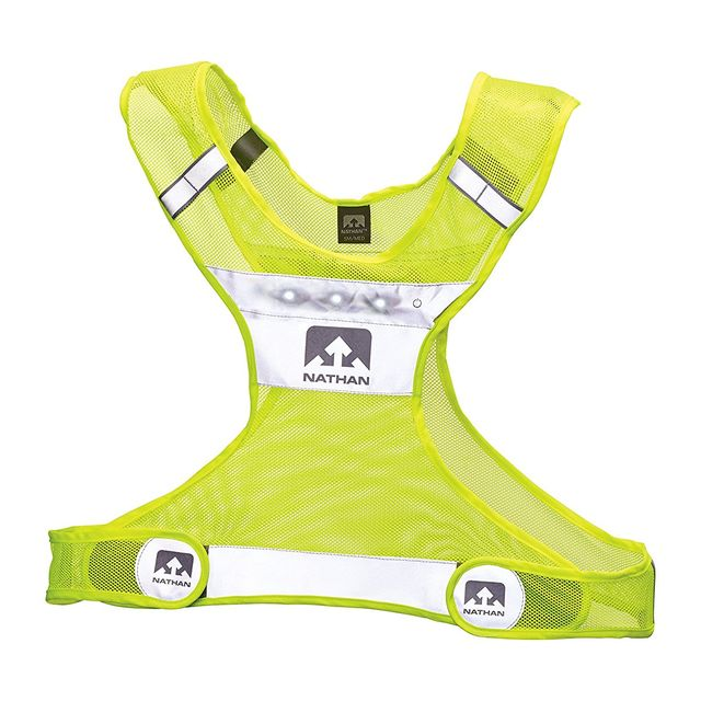 Nathan Light Streak LED Vest in Knallgelb / Reflector