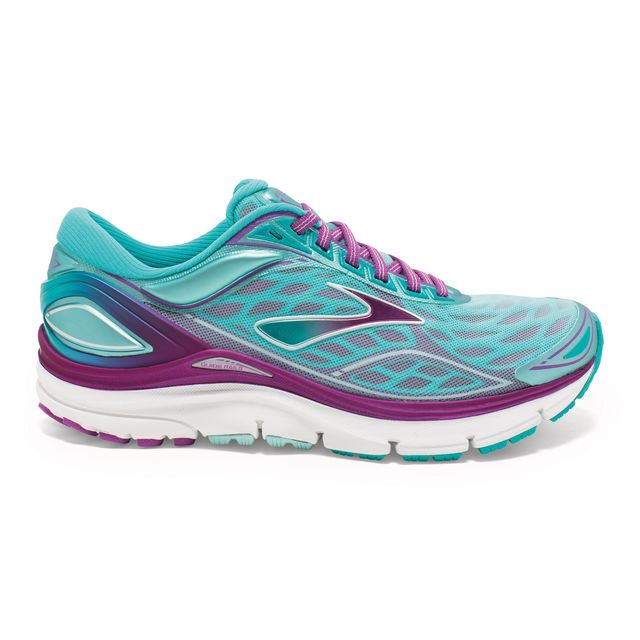 Brooks Lady Transcend 3 in Türkis