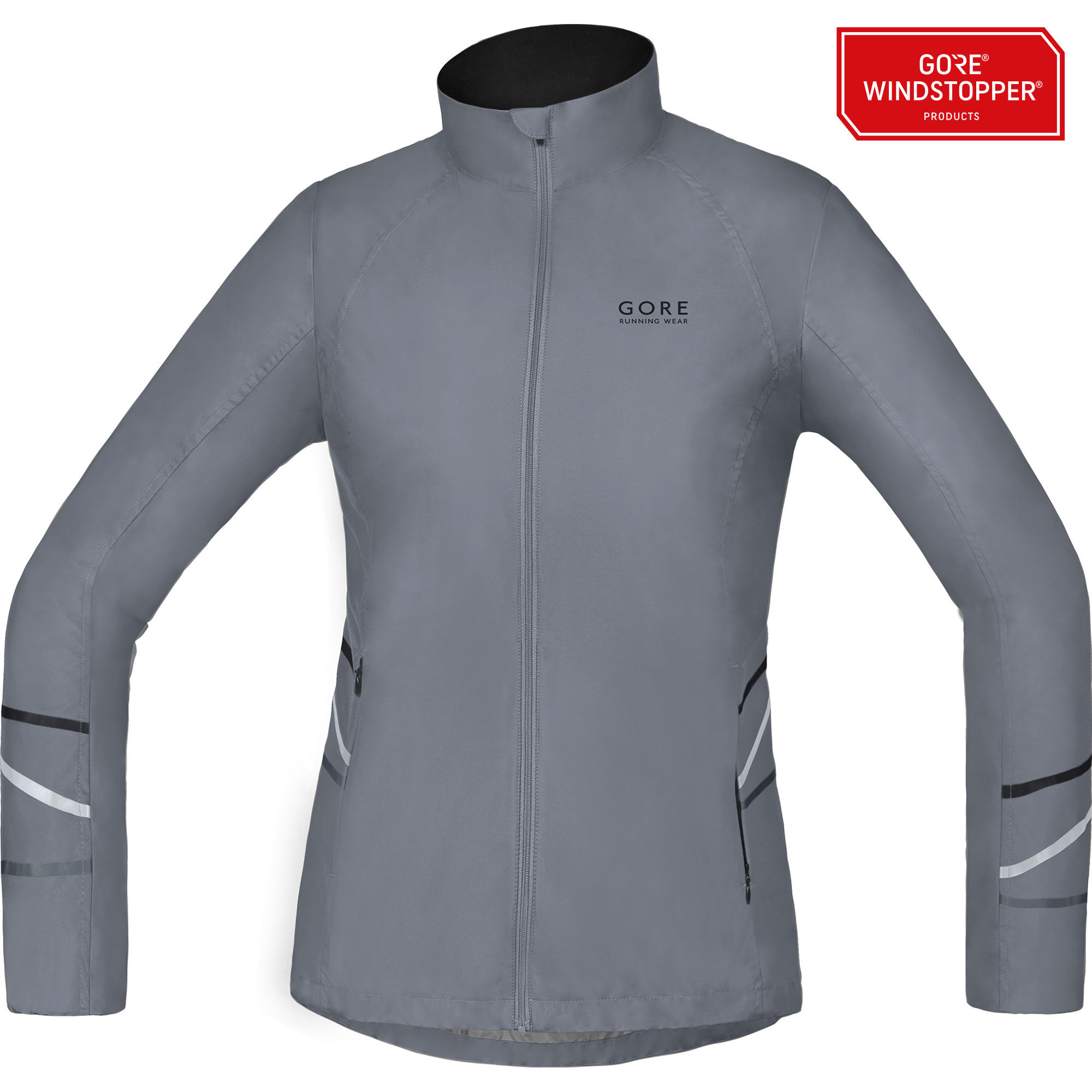 Gore Mythos Lady WS AS Light Jacket in Silber Grau