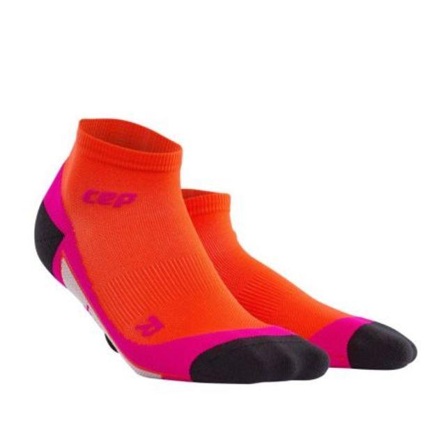 cep Low Cut Socks Women in Orange Pink