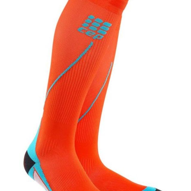 cep Run Socks 2.0 Men in Orange Blau