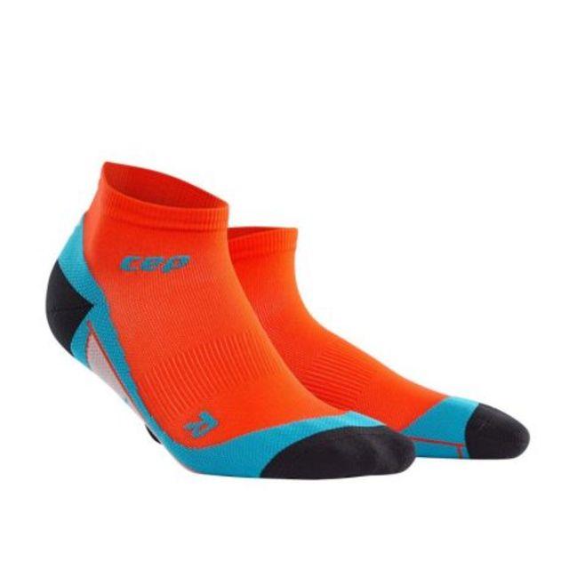 cep Low Cut Socks Men in Orange Blau
