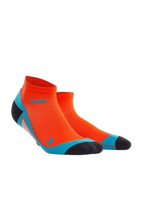 cep Low Cut Socks Men in Orange Blau