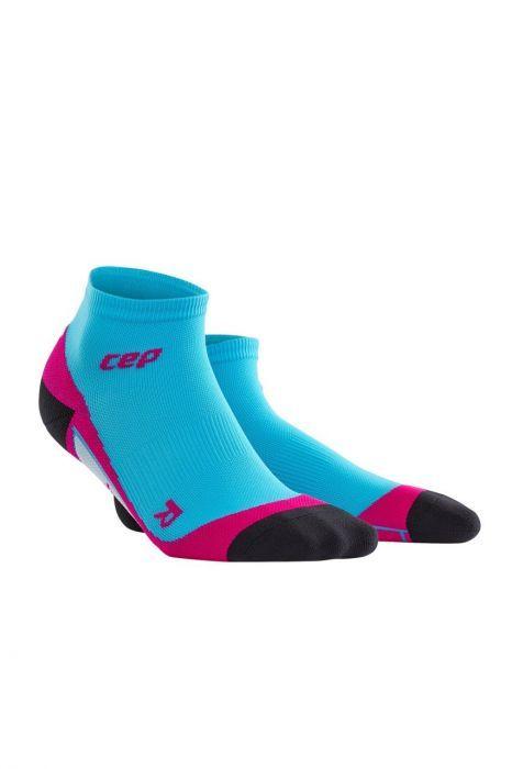 cep Low Cut Socks Women in Blau Pink